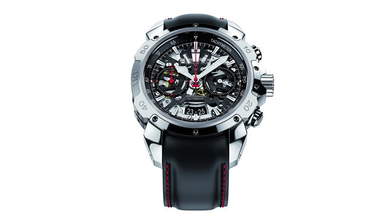 Pierre DeRoche TNT Chrono 43 luxury timepiece