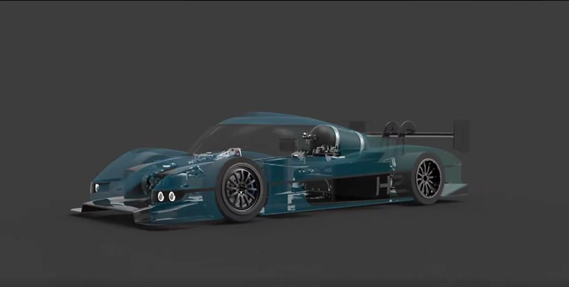 Forze VII Hydrogen Powered Race Car