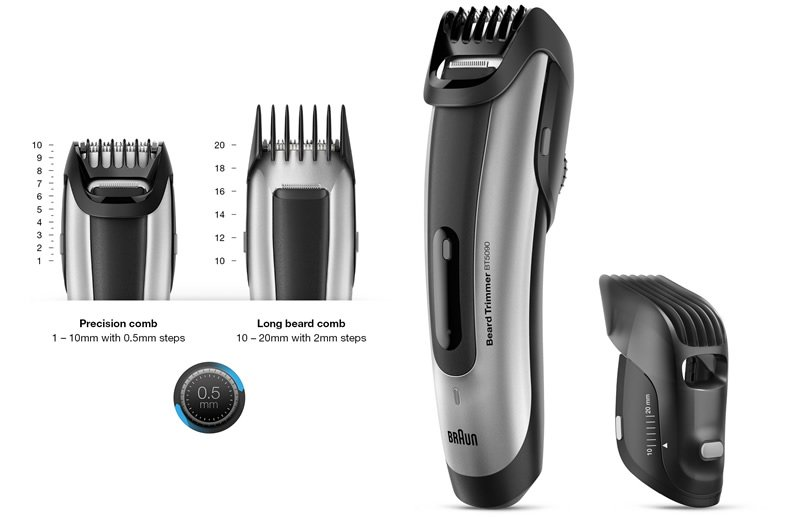 beard trimmer guide combs wahl lithium ion plus 9818 tested and reviewed moo review babyliss. Black Bedroom Furniture Sets. Home Design Ideas