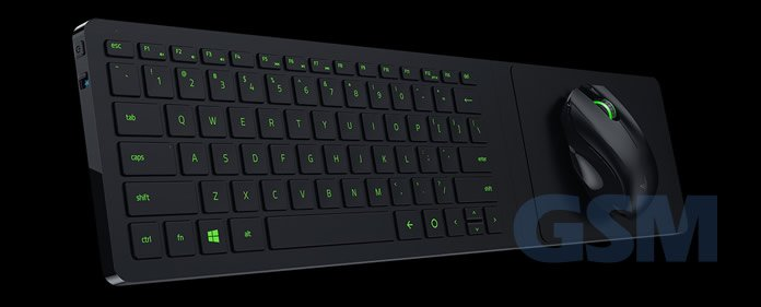 Razer Turret Wireless Lapboard Mouse Comb