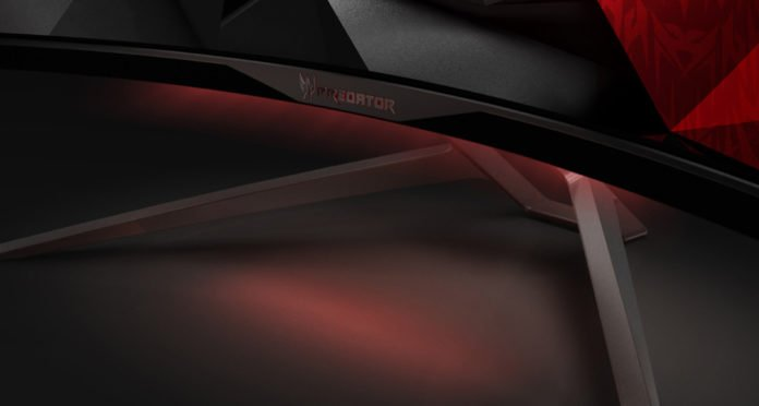Acer Predator X34 Curved IPS Gaming Monitor