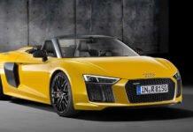 Audi R8 Spyder debuts New York Auto Show