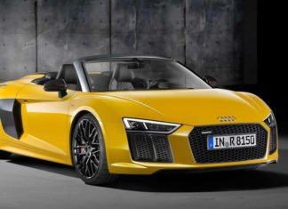 Audi R8 Spyder debuts New York Auto Show