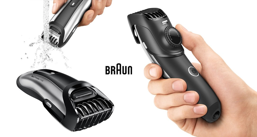 Braun 7 Beard Trimmer In Use Bt5090