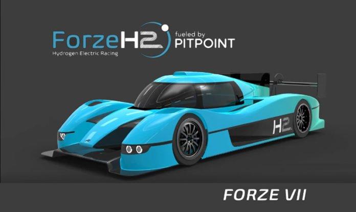 Forze VII Hydrogen Powered Race Car