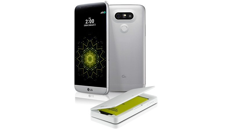 LG G5 free battery and cradle