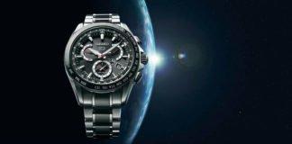 Seiko Astron Titanium GPS Solar Watch