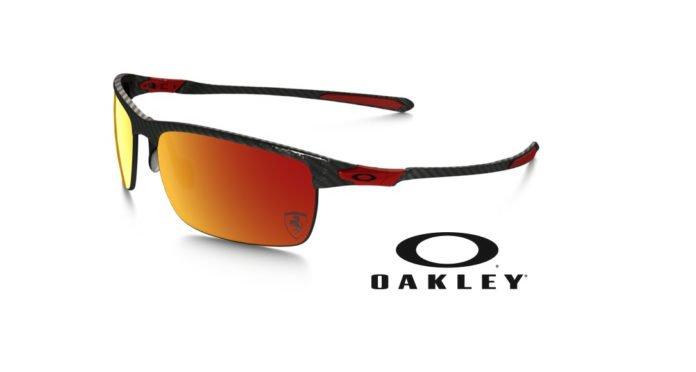 Oakley Carbon Blade Polarized Scuderia Ferrari Sunglasses