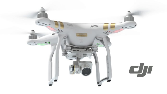 Phantom 3 Pro Quadcopter with 3-axis gimble and sony 4k-camera