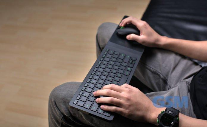 Razer Turret Gaming Grade Wireless Lapboard Mouse Combo