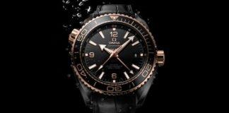 Omega Seasmaster Planet Ocean Deep Black Collection