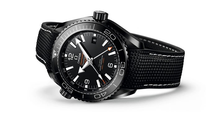 Omega Seasmaster Planet Ocean Deep Black