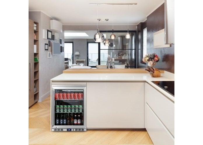 KingsBottle Under Counter Beverage Cooler