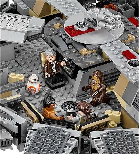 lego star wars force awakens millennium falcon. Black Bedroom Furniture Sets. Home Design Ideas