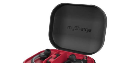 myCharge PowerGear Sound Wireless EarBud Charging Case