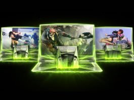 nVidia GeForce GTX 10 Series GPU Gaming Laptops