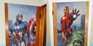 Mydor Marvel Classic Avengers Door Wrap Review