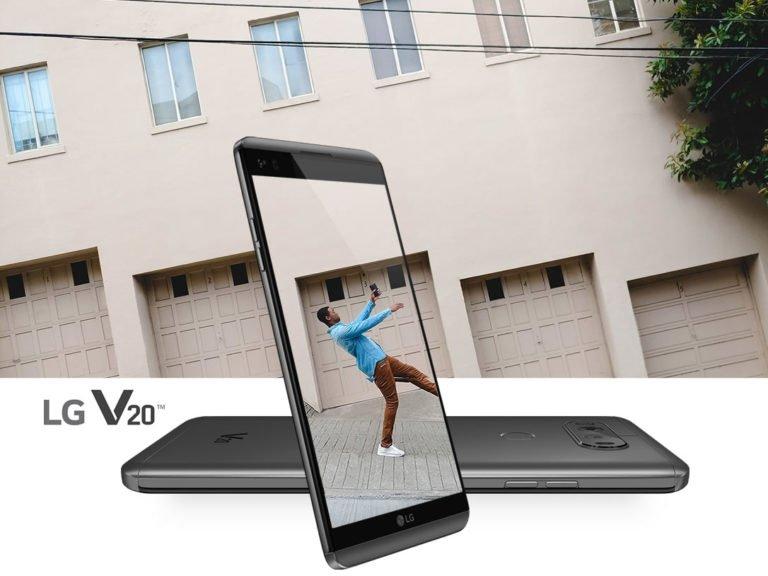 LG V20 Flagship Smartphone Unveiled