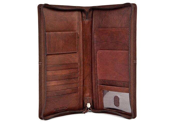 Rogue Industries RFID Blocking Leather Travel Organizer