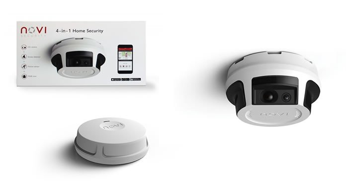 Novi 4-in-1 Home Security System
