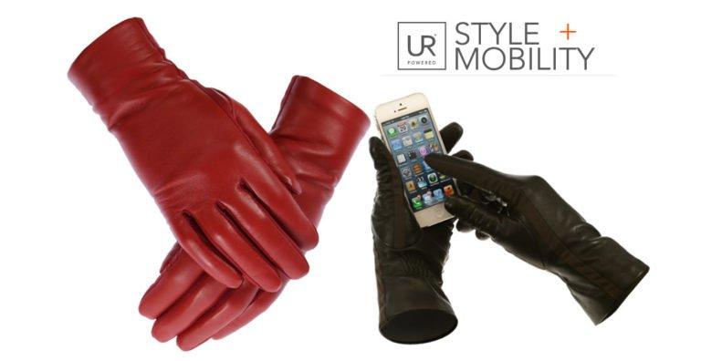 NOVA Ladies Genuine Leather Touchscreen Gloves