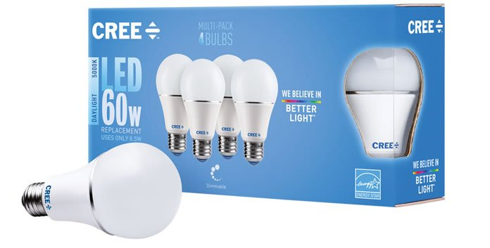 Better Light with 3rd Gen Cree LED Bulbs