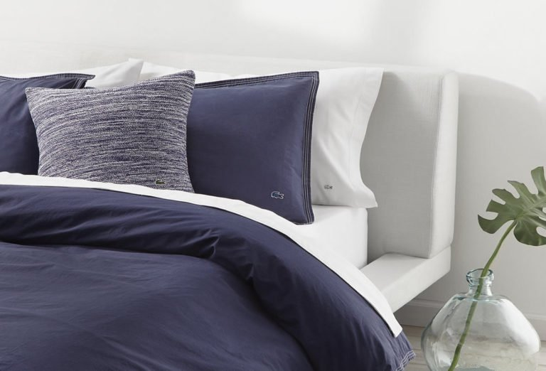 Lacoste Home Washed Solids Collection Bedding Sets