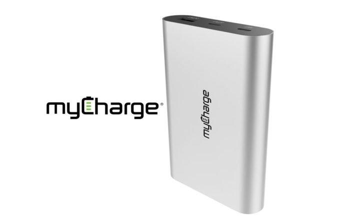 myCharge Powerful 36W RazorPlatinum Portable Battery