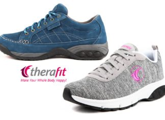 Therafit Women's Athletic Shoes the Ultimate in Comfort