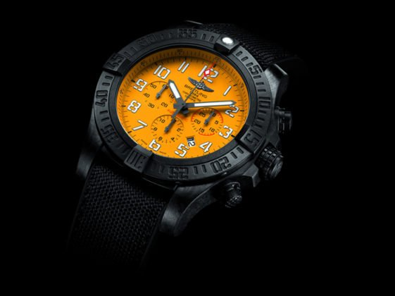 Avenger Hurricane 12H Yellow Dial