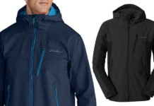 Eddie Bauer First Ascent Sandstone Shield Hooded Jacket
