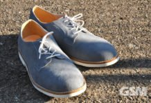 Gambino Alliance Handmade Luxury Suede Men's Derby