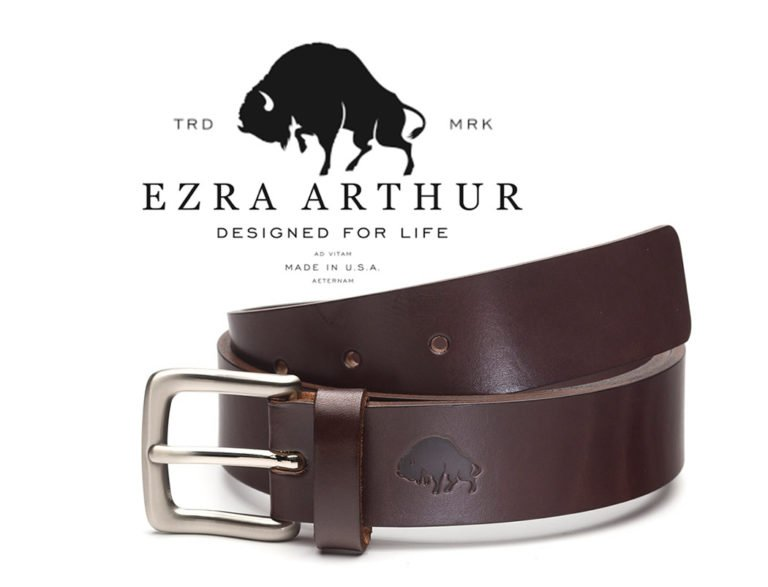 Ezra Arthur No. 1 Belt Handcrafted Leather Accessories