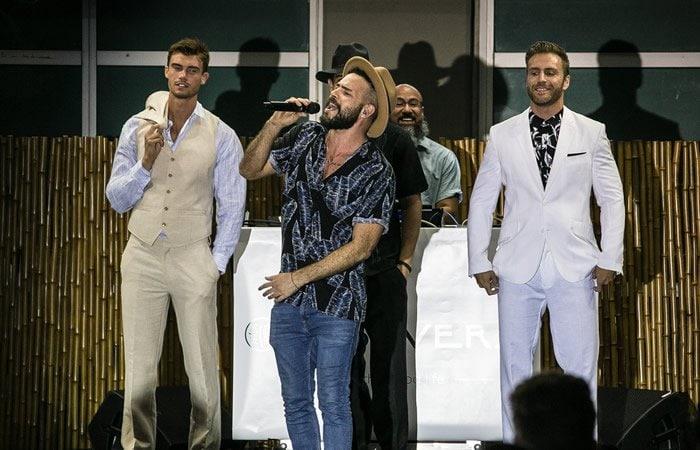 Cubavera Men's Fashion Show in Miami Heat