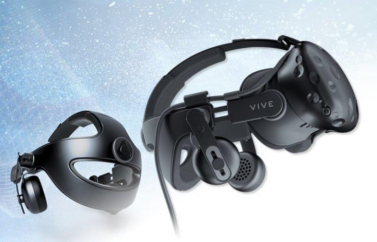 Transform Vive VR into a helmet, VIVE Deluxe Audio Strap