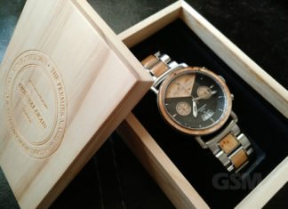 The Marc Original Grain Handcrafted Wood Watch