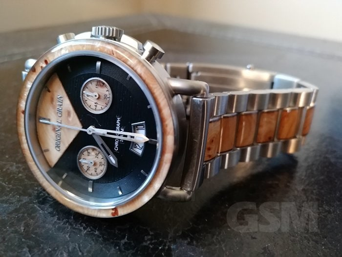 The Marc Original Grain Handcrafted Wood Watch
