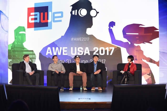 AWE Augmented World Expo AR VR 2017