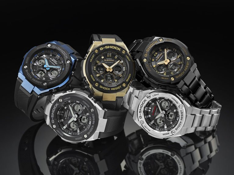 G-Shock Mid Size G-STEEL Collection
