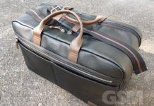 Luxury Weekender Bag, Solo New York Bayside Leather Duffel