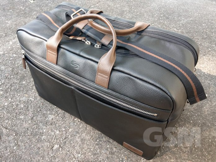 Luxury Weekender Bag, Solo New York Bayside Leather Duffel