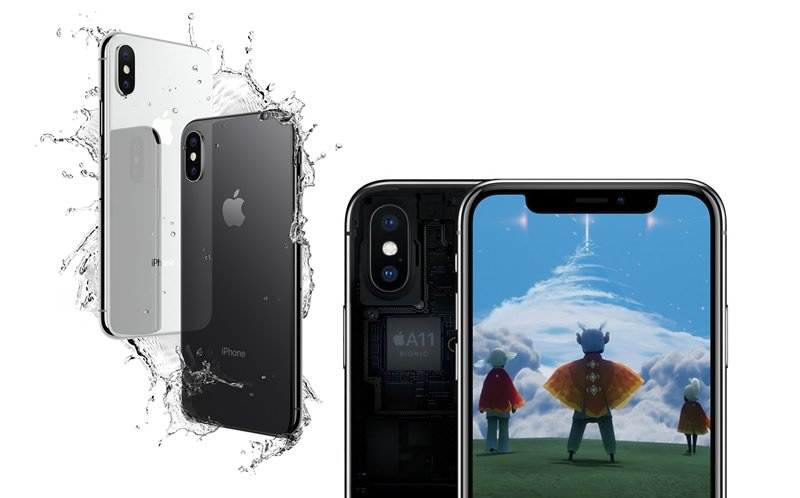 new iPhone X and some friends Arrive