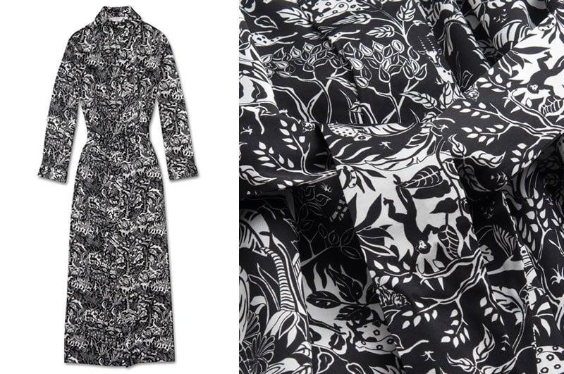 Derek Rose Women's Pure Silk Luxury Sleepwear