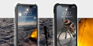 UAG Handcrafted Monarch & Clear Plyo iPhone X cases