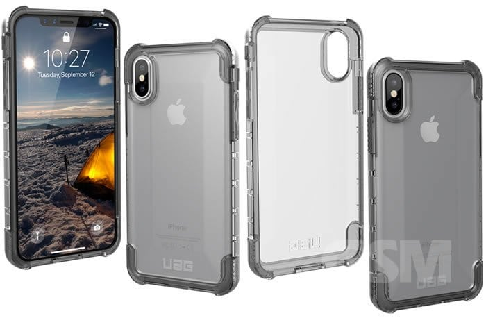 reputable site e8941 06225 UAG Handcrafted Monarch & Clear Plyo iPhone X cases