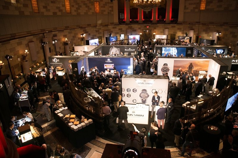 Watchtime New York Luxury Watch Show's Third Year sold out