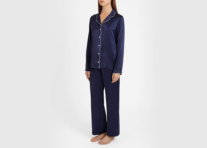 Derek Rose Women's Pure Silk Luxury Sleepwear