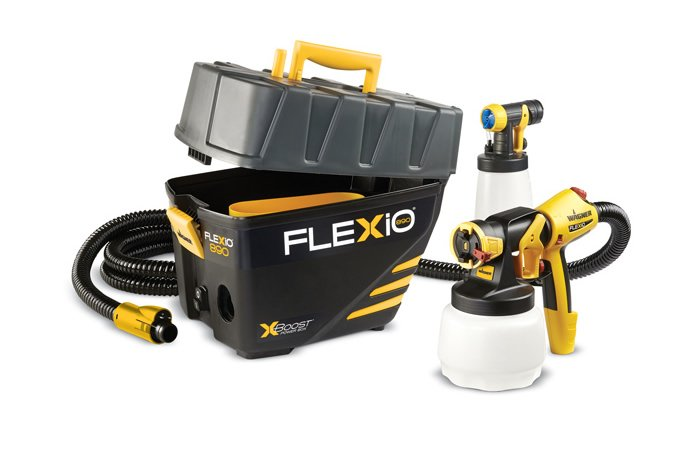 Paint like a Pro Home Improvement Tools: Wagner Flexio 890 Paint Sprayer