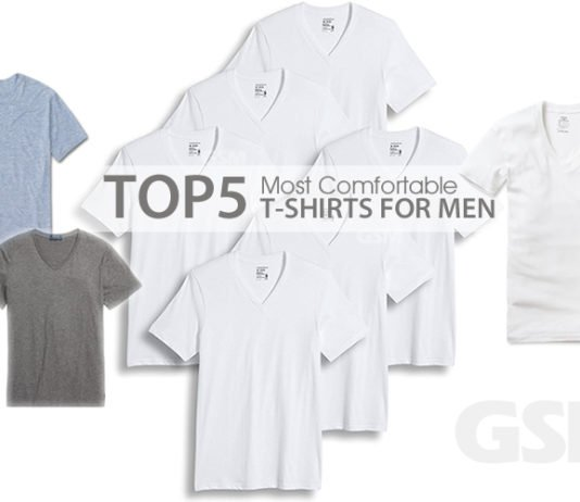 Top 5 Most Comfortable Mens T-Shirts