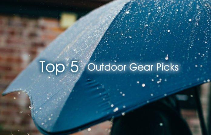 Top 5 Outdoor Gear Picks
